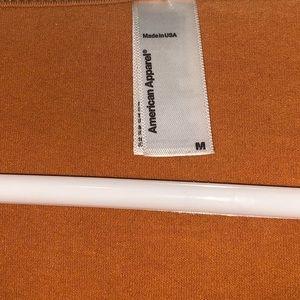American Apparel Tops - American Apparel Orange Long Sleeve Top